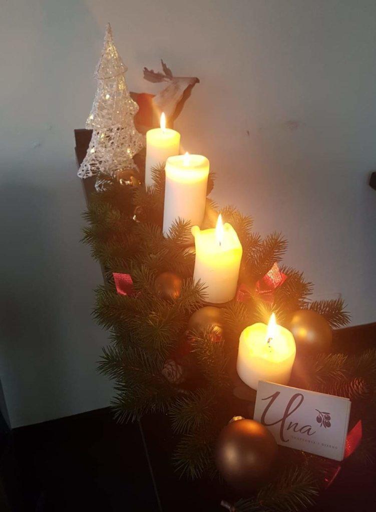 Weihnachten in der Trattoria Una Refrath